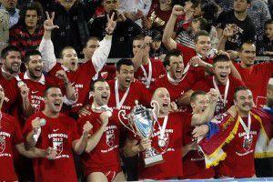 La festa della Stella Rossa per la Champions 2013