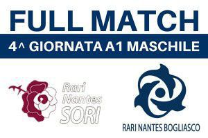 FULL MATCH - SORI - BOGLIASCO